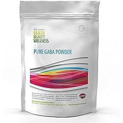 GABA POWDER | 250g Big Pack - 100% Ohne Zusätze | Reines Gamma Amino Buttersäure Pulver | Aminosäuren | HGH - Wachstumshormon-Ausschüttung | Muskelaufbau Regeneration verbessert Schlaf-Qualität