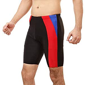 Champ C3WLH5429_BK-S Polyester Swimming Jammer, Small (Black)