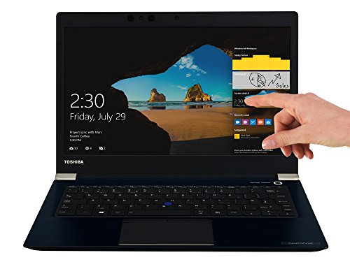 D-10M Laptop (Intel Core i5-7200U, 33,8cm 13,3Zoll Full-HD entspiegelt, 8GB RAM, 256GB SSD, WLAN, Bluetooth 4.2, Windows 10 Pro) blau ()