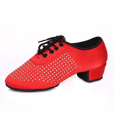 ... americani Ballo Gold Da Tip Donna Tap non Jazz Moderna Personalizzabile  Scarpe da Sneakers Latino Danza ... c5b50b2341e