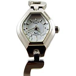 New Fashion Bracelet Style Ladies Watch Silver Strap Analogue Dial Quartz 2016