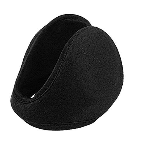 , Metallrahmen, Fleece, Schwarz-Ohrschützer Ear Warmer Fleece Ear Warmer