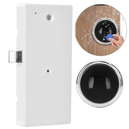 Intelligente Induktion Schrank Schloss, RFID Karte Verdeckter Schublade Schrank, Keyless-DIY-Lock für das Sauna-Spa-Fitnessstudio (Sauna Diy)