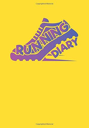 Running Diary: Race Keepsake Notebook Diary por Dartan Creations
