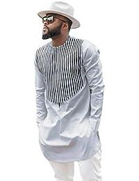 Blusa Superior de Manga Larga Dashiki con Estampado Africano de Lujo de otoño Invierno por Internet