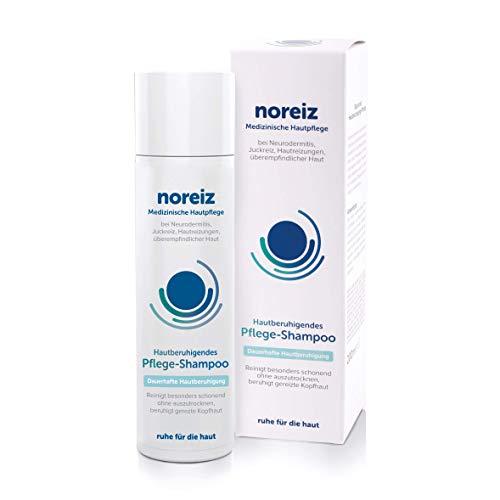 noreiz Hautberuhigendes Pflege-Shampoo mit Thiocyanat • Medizinische Kopfhaut Pflege bei Neurodermitis, Juckreiz, empfindlicher Haut • lindert Juckreiz auf der Kopfhaut