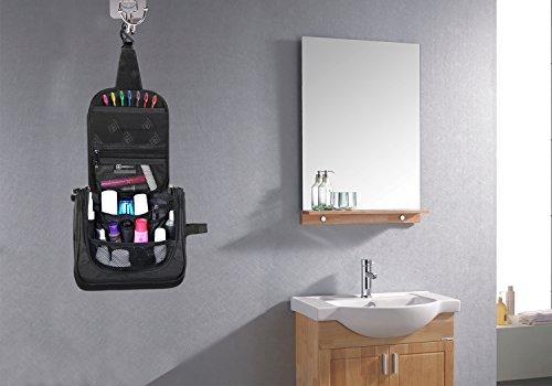 Kulturbeutel Kulturtasche Mann zum Aufhängen | Waschtasche für Männer | Waschbeutel Herren | Große Kosmetiktasche Damen | Klein Kosmetikbeutel Frauen