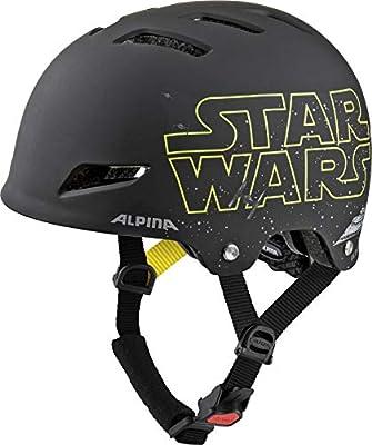 Alpina Boy's Park JR. Star Wars Bicycle Helmet 51-55 cm Black from ALPINA SPORTS GmbH