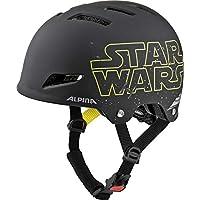 Alpina Park JR. Casco de Bicicleta, Star Wars-Black, 51 – 55 cm