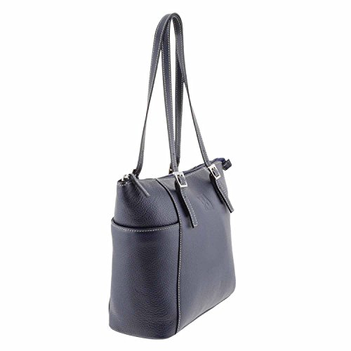Stile borsa di pelle cestino MARINO