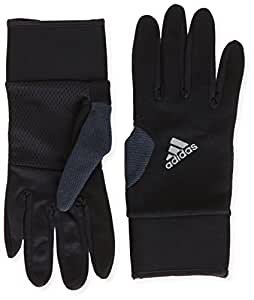 adidas Run Cw Ws Gants Homme Black/Phantom S09/Reflective Silver FR : XL (Taille Fabricant : XL)