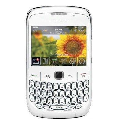 Blackberry Curve 8520 - Smartphone Entel Desbloques, (Écran de 2,4 320 x 240, appareil photo 2 MP, 256 Mo de capacité) couleur blanc,
