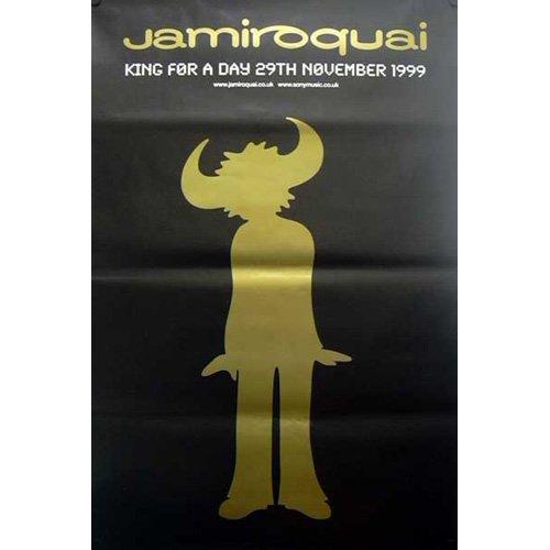 Jamiroquai - Géanteposter King for a Day