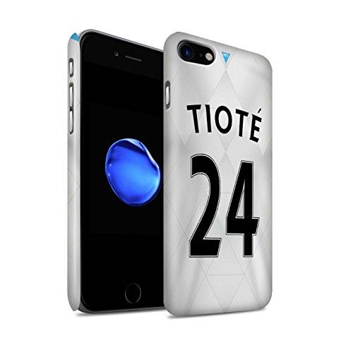 Offiziell Newcastle United FC Hülle / Matte Snap-On Case für Apple iPhone 7 / Taylor Muster / NUFC Trikot Away 15/16 Kollektion Tioté