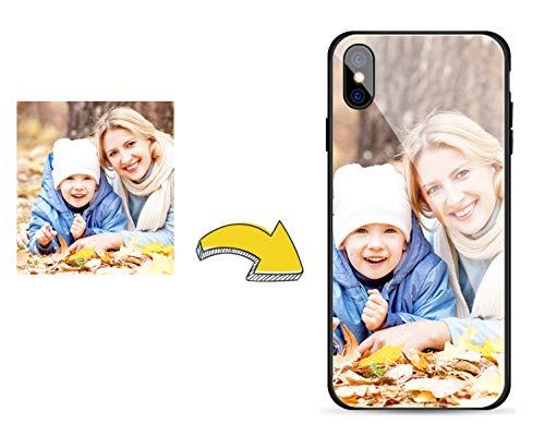 e Foto Hülle für Samsung Galaxy A40 - Benutzerdefiniert Ihre Eigene Bildabdeckung Gehärtetes Glas Zurück Schutzhülle - Fall Jetzt Anpassen ()
