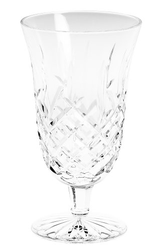 Waterford Crystal Araglin Footed Iced Beverage Glass, 14-Ounce Waterford Araglin