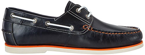 camel active Herren Sail 11 Bootsschuhe Blau (midnight (orange) 12)