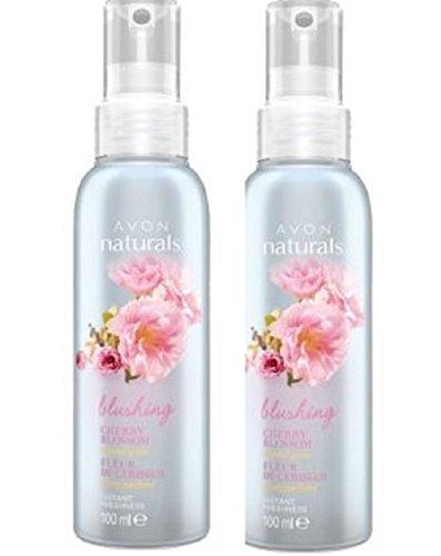 2 x Avon Naturals parfumé Spritz - Cherry Blossom - 100 ml
