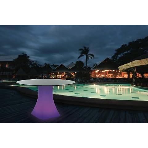 LED Möbel Designer tavolo Made in Inghilterra, illuminazione a LED (7colori), con