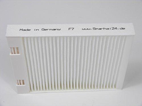 Filtro repuesto marco plástico F7Bypass Vaillant
