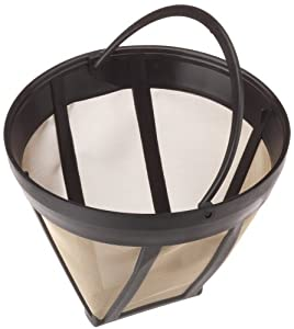 SCANPART Universal Permanent Coffee Filter, Size 4, Gold