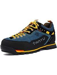 Scarpe da Trekking Uomo Respirabile Sportive Escursionismo Scarpe da  Montagna Sneakers Passeggiata 6b07b09e38a