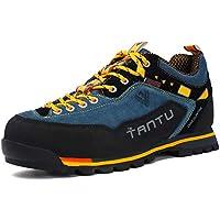 Scarpe da Trekking Uomo Respirabile Sportive Escursionismo Scarpe da  Montagna Sneakers Passeggiata 5b6ee94cdab