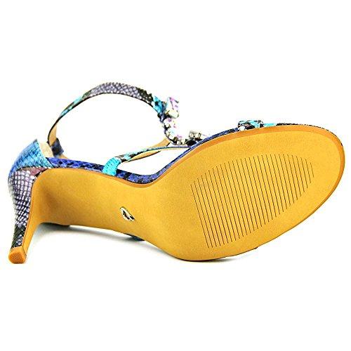 Thalia Sodi Playa Femmes Synthétique Sandales Blue Multi