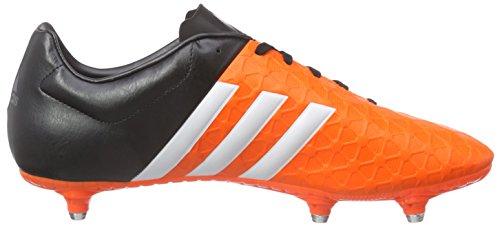 Adidas Performance ACE15.2 SG / ACE15.4 SG, Chaussures de Football - Homme Orange - Orange (Solar Orange/Ftwr White/Core Black)