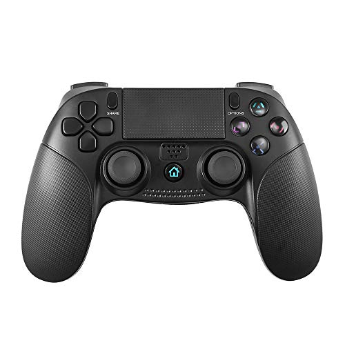 PS4-Controller, PowerLead Wireless Gamepad für Playstation 4/Playstation 3/PC Touch Panel Joypad mit Dual Vibration Game Fernbedienung Joystick - Pc Diablo Game