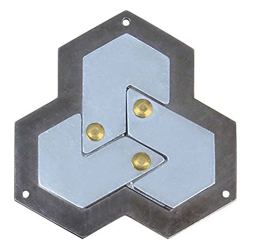Hexagon Hanayama Cast Metal Brain Teaser Puzzle by Hanayama