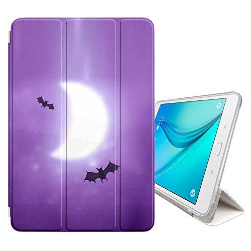 Graphic4You Dark Night Bat Design Smart cover Hülle Dünn Tri-Fold Schlank Superleicht Ständer Cover Schutzhülle Tasche für Samsung Galaxy Tab S2-9.7
