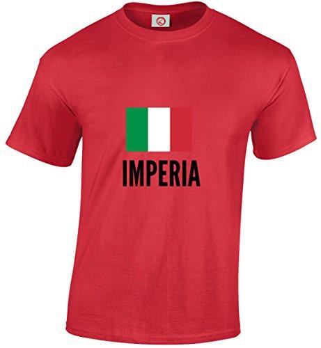 T-shirt Imperia city rossa