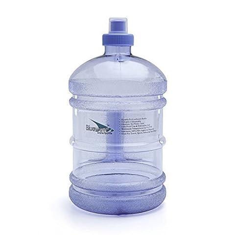 Bluewave Daily 8® Gourde sans BPA - 1.9 Litres (64 oz) Violet
