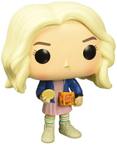Funko Pop! TV: Stranger Things - Eleven Con Eggos CHASE 10cm Figura de acción