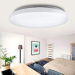 """LED Deckenleuchte""""GALA-RM"""" 24W rund Deckenlampe 3000K warmweiß Modern und schlicht 1800 Lumen"""