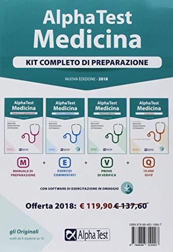 Alpha Test. Medicina. Kit completo di preparazione. Con software di simulazione (Testuniversitari)
