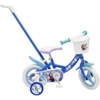 Toimsa 1027 – Licensed Children's Bicycle with Rod Reinde Snow 10 Inch 2 to 3 Years