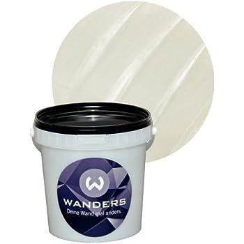 Effekt wandfarbe wandlasur 1 liter dulux perlmutt silber struktur baumarkt - Effekt wandfarbe perlmutt ...