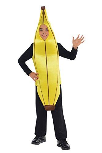 Kinder Kostüm Banane - Banane witziges Kostüm Kinder Amscan
