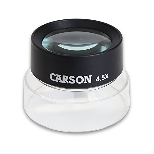 Carson Lupa de Contacto LumiLoupe de 4.5x
