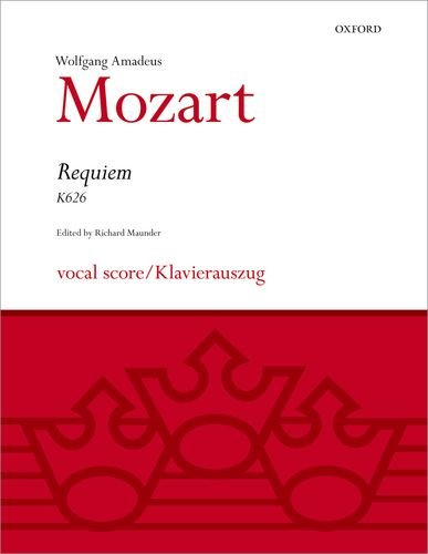 Requiem: Vocal Score/Klavierauszug (Classic Choral Works)