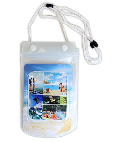 ater Proof Clear Vinyl Pouch For Cell Phone With Lanyard: PHONE-WP-YX (Lanyard Pouch)