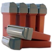 EPILWAX S.A.S -Lote De 6 cartucho Roll-on De Cera 50 ml Recargas Compatibles Con calentador Veet EasyWax
