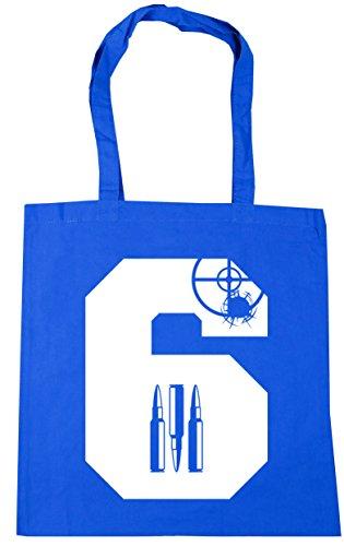 Hippowarehouse ,  Damen Strandtasche Kornblume (Blau)
