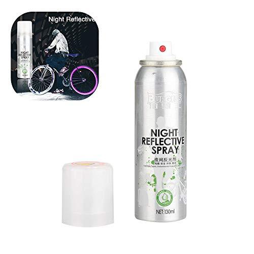 ective Spray Paint Reflektierende Sicherheitsmarkierung Anti Accident Sicherheits Spray,für Bike (Silver) ()