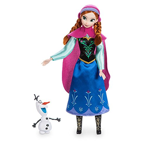 Disney Frozen / Die Eiskönigin - Anna Puppe - original Disney 30cm (USA Import) Barbie Anna