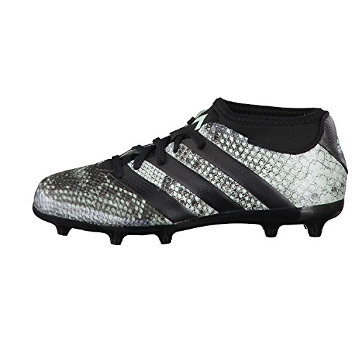 adidas Ace 16.3 Primemesh Fg/Ag J, Chaussures de Foot Garçon Noir