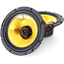 Auna Goldblaster 6.5 - Altavoces para coche (De 1 vía, Neodimio, 80 - 20000 Hz)