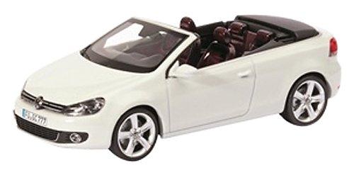 Schuco 450746700 - Volkswagen Golf Cabrio, Die-Cast, Maßstab 1:43, weiߟ